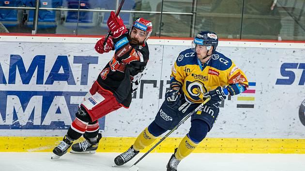 Marek Zachar (vlevo) rozhodl duel proti Zlínu.