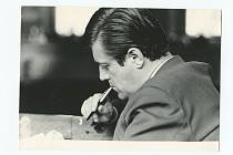 Reportér Ivo Tomáš.