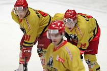 I. hokejová liga: Královští lvi Hradec Králové - HC Olomouc.