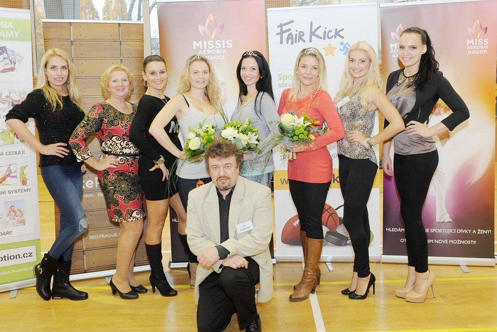 Regionální kolo Miss aerobik & Dance tour v Pardubicích.