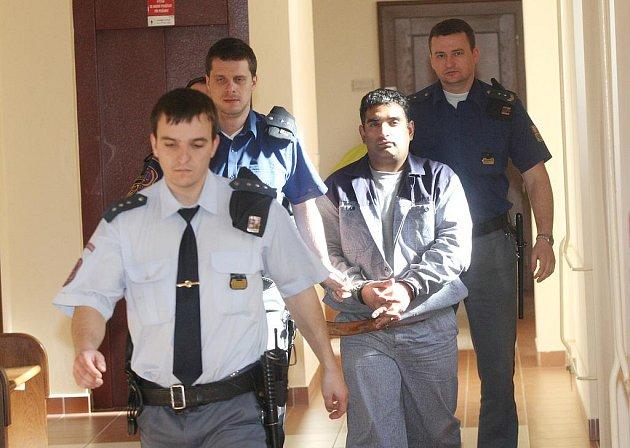 Miroslav Čureja u soudu v Hradci Králové