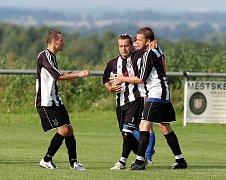 Nový Hradec  - Nový Bydžov B, zápas 14. srpna 2010.