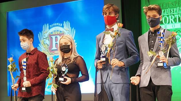 Z vyhlášení ankety Nejúspěšnější sportovec roku 2019 Královéhradeckého kraje.