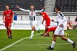 Fotbalová FORTUNA:NÁRODNÍ LIGA: FC Hradec Králové - MFK Vítkovice.
