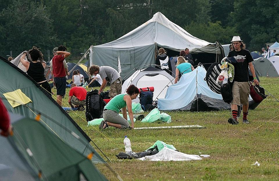 Hudební festival Rock for People 2009 končí, kemp se uzavírá v úterý 7. července.