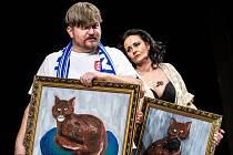 Zkouška hry Vincenc v královéhradeckém Klicperově divadle.