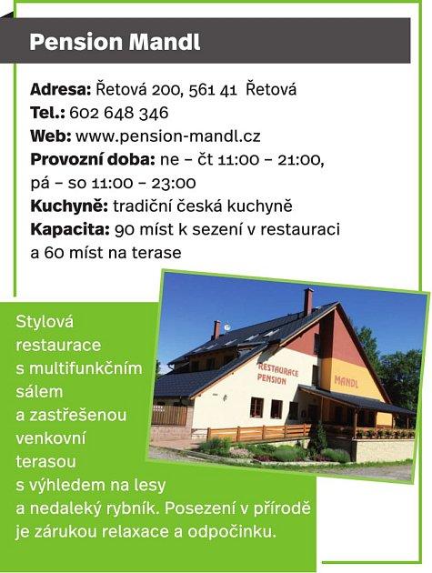 Penzion Mandl, Řetová