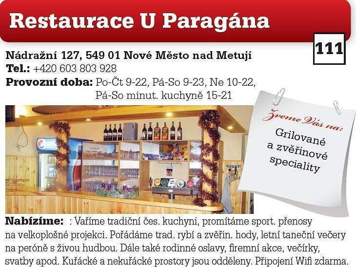 Restaurace U Paragána