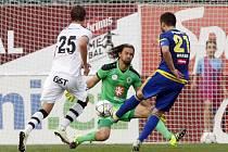 Fotbalová ePojisteni.cz liga: FC Hradec Králové - FC Vysočina Jihlava.