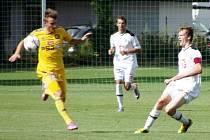 Juniorská liga ve fotbale: FC Hradec Králové - FC Vysočina Jihlava.