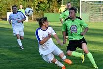 Krajský přebor ve fotbale: Kostelec nad Orlicí - Dobruška.