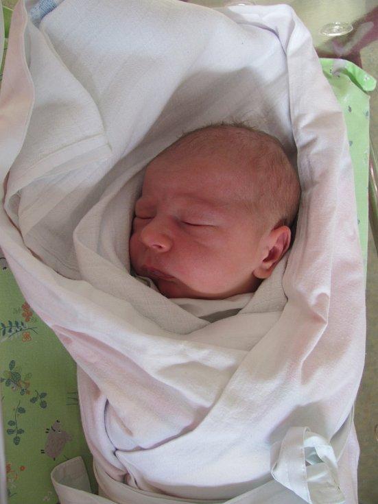 JINDŘICH MONÍK se narodil 19. července v 1.35 hodin. Měřil 52 cm a vážil 3460 g. Udělal radost rodičům Barboře a Jindřichovi Moníkovým z Holic v Čechách. Doma se těší sestřička Justýnka.