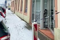 V souvislosti s oteplením v posledních dnech i v ulicích Hradce Králové dochází k tání sněhu.