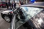 Ve výbavě dálniční policie je nově zařazen vůz Audi, který je vybaven technikou pro monitorováni vozidel.
