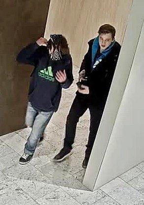 Podezřelý muž v Auparku.