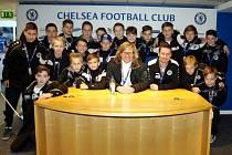 """Společná"" tiskovka na Stamford Bridge."