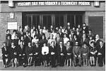 Pedagogický sbor v 80. letech.