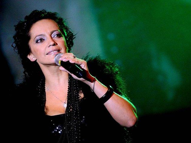 Zpěvačka Lucie Bílá.