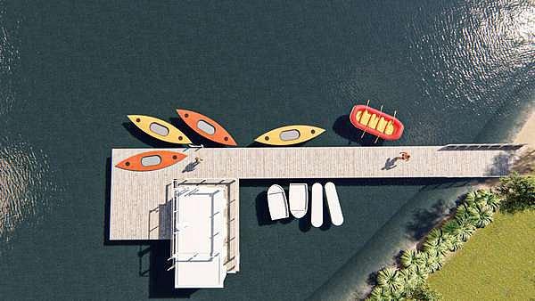 Hradec se inspiroval ve Finsku. Bude mít unikátní saunu na řece.
