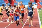 Atleti TJ Sokol Hradec Králové na mistrovství České republiky mužů a žen do 22 let.