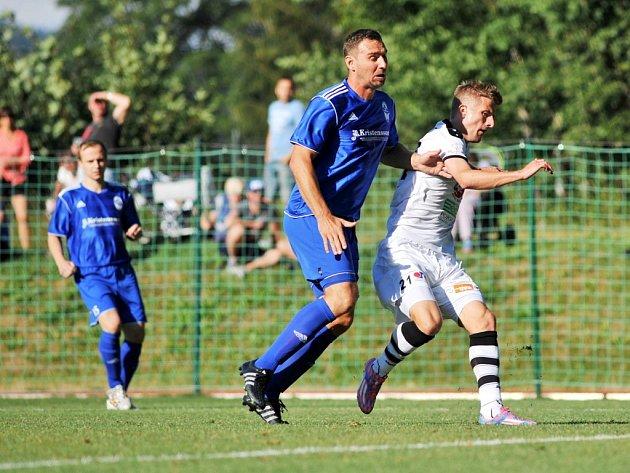 Fotbalový pohár FAČR: FK Trutnov - FC Hradec Králové.