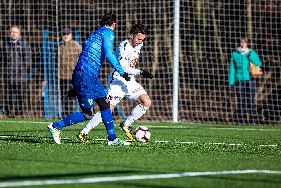 Zimní příprava fotbalistů: FC Hradec Králové - Loko Vltavín.