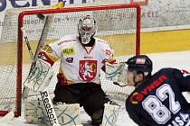 I. hokejová liga: HC VCES Hradec Králové - HC Benátky nad Jizerou.