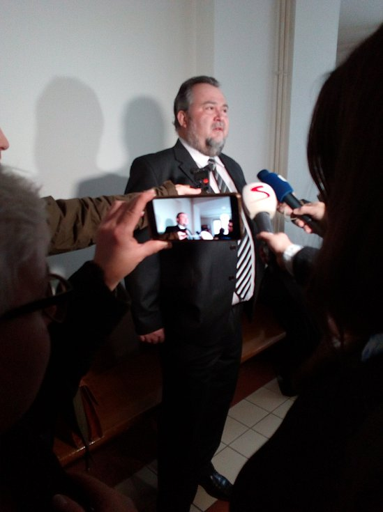 Josef Malíř u Krajského soudu v Hradci Králové.