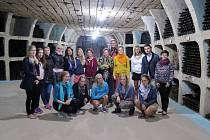 Exkurze studentů v Moldavsku.