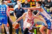 Bonver Ženská basketbalová liga. Ilustrační fotografie.