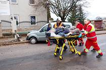 Dopravní nehoda v obci Humburky.