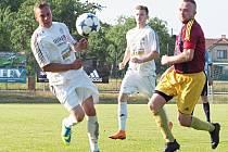 Okresní přebor ve fotbale: RMSK Cidlina Nový Bydžov B - TJ Sokol Stěžery.