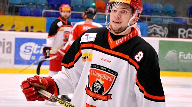 Za první tým hokejového Hradce Králové si talentovaný obránce Michael Gaspar zahrál letní přípravné zápasy.