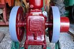 Výstava historické zemědělské techniky v Podorlickém skanzenu v Krňovicích