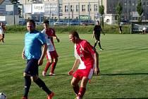 Fotbalový Pohár hejtmana: TJ Lokomotiva Hradec Králové - SK Solnice.