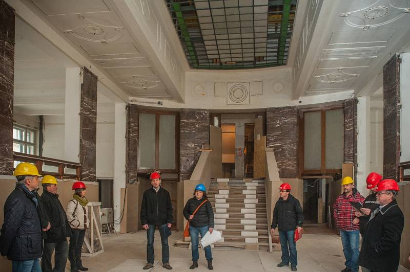 Rekonstrukce Galerie moderního umění v Hradci Králové.