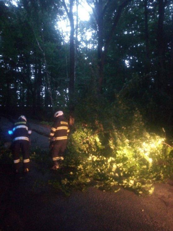Následky středeční bouřky v Královéhradeckém kraji - Ohnišov