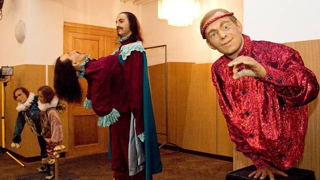 Katastrofy lidského těla - výstava voskových figurín v kulturním domě Střelnice v Hradci Králové.