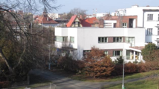 Liskova vila v Hradci Králové.