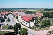 Petrovická náves