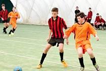Stěžerská zimní liga v halovém fotbale.