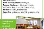 Restaurace U Zvonečku, Svitavy