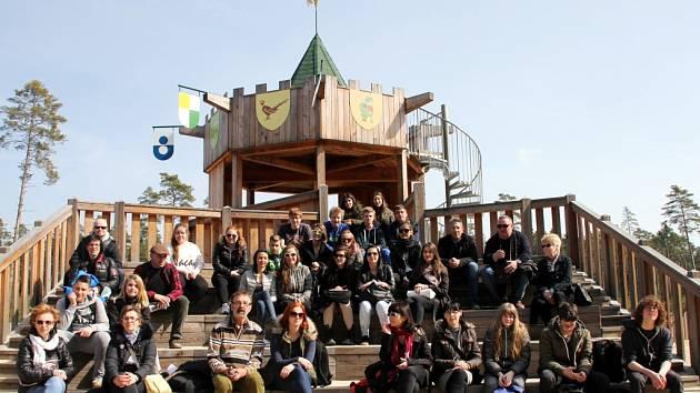Projekt Seek and Find Nature v rámci programu Erasmus+ školní vzdělávání, strategická partnerství škol.