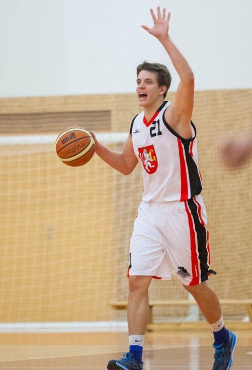 Basketbal mužů - 4. kolo Českého poháru: Sokol Hradec Králové 2 Pražské Předměstí - BK JIP Pardubice.