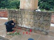 Pietní akce připomněla justiční vraždu známé české političky.