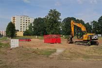 Na Pouchově vznikne nová hala i s parkovištěm.