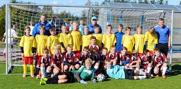 Fotbalový výběr OFS Hradec Králové U12.