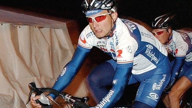 Jezdec hradecké stáje PSK Whirlpool Petr Benčík.