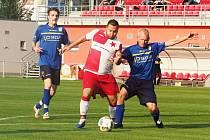 Okresní přebor ve fotbale: Slavia Hradec Králové B - Malšova Lhota.