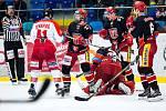 Hokejová extraliga: Mountfield HK - HC Olomouc.